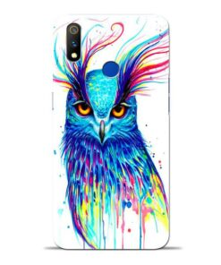 Cute Owl Oppo Realme 3 Pro Mobile Cover