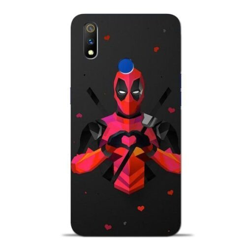 DeedPool Cool Oppo Realme 3 Pro Mobile Cover