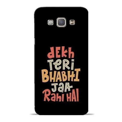 Dekh Teri Bhabhi Samsung Galaxy A8 2015 Mobile Cover