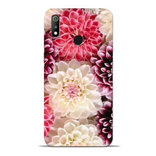 Digital Floral Oppo Realme 3 Mobile Cover