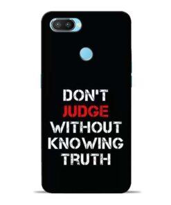 DonT Judge Oppo Realme 2 Pro Mobile Cover
