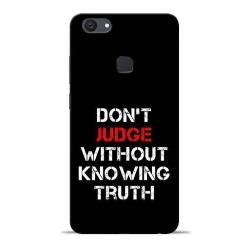 DonT Judge Vivo V7 Plus Mobile Cover