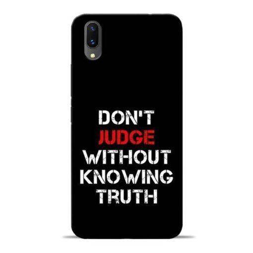 DonT Judge Vivo X21 Mobile Cover