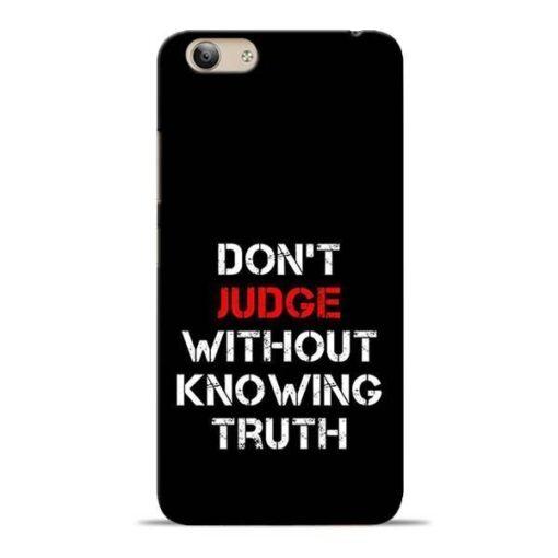 DonT Judge Vivo Y53i Mobile Cover