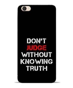 DonT Judge Vivo Y55s Mobile Cover