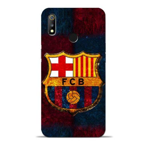 FC Barcelona Oppo Realme 3 Mobile Cover