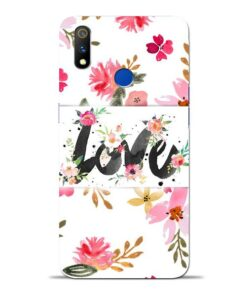 Flower Love Oppo Realme 3 Pro Mobile Cover