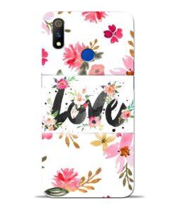 Flower Love Oppo Realme 3 Pro Mobile Cover