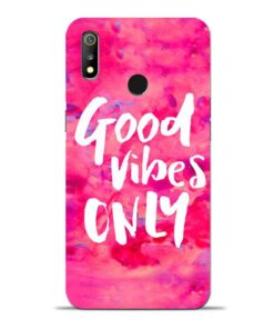Good Vibes Oppo Realme 3 Mobile Cover