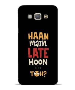 Haan Main Late Hoon Samsung Galaxy A8 2015 Mobile Cover