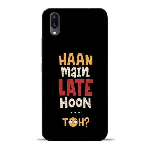 Haan Main Late Hoon Vivo X21 Mobile Cover