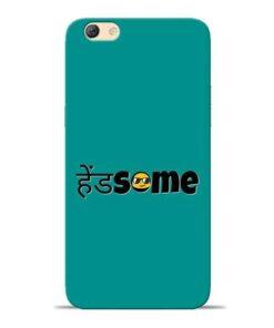 Handsome Smile Oppo F3 Mobile Cover