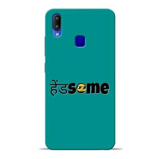 Handsome Smile Vivo Y91 Mobile Cover