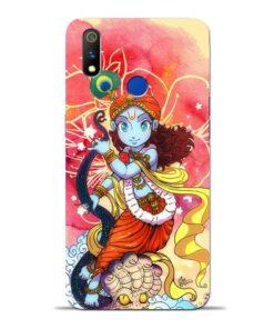 Hare Krishna Oppo Realme 3 Pro Mobile Cover