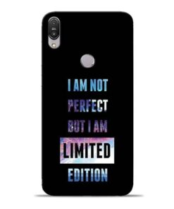I Am Not Perfect Asus Zenfone Max Pro M1 Mobile Cover
