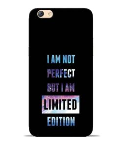 I Am Not Perfect Oppo F3 Mobile Cover