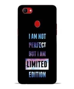 I Am Not Perfect Oppo F7 Mobile Cover
