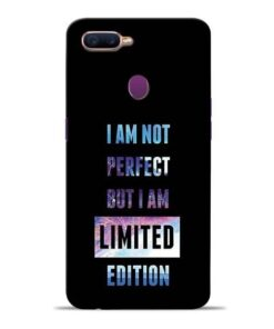 I Am Not Perfect Oppo F9 Pro Mobile Cover