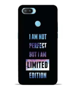 I Am Not Perfect Oppo Realme 2 Pro Mobile Cover