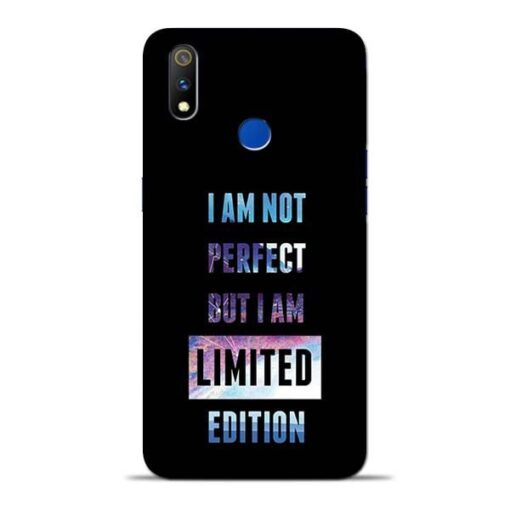 I Am Not Perfect Oppo Realme 3 Pro Mobile Cover