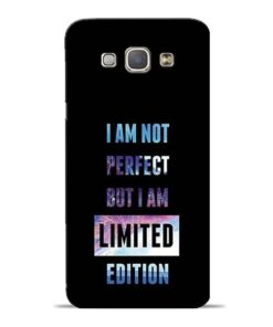 I Am Not Perfect Samsung Galaxy A8 2015 Mobile Cover