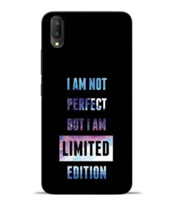 I Am Not Perfect Vivo V11 Pro Mobile Cover
