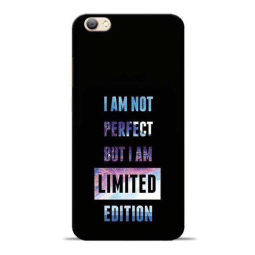 I Am Not Perfect Vivo V5s Mobile Cover