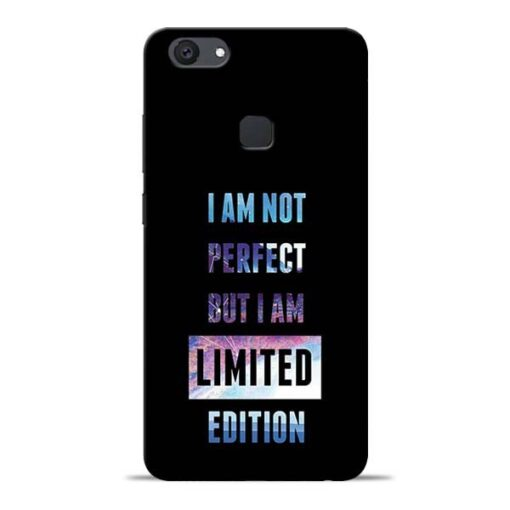 I Am Not Perfect Vivo V7 Plus Mobile Cover