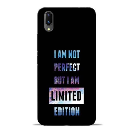 I Am Not Perfect Vivo X21 Mobile Cover