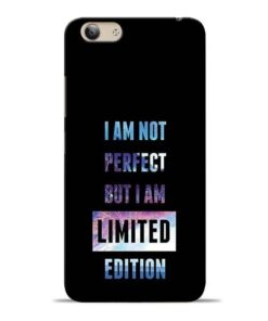 I Am Not Perfect Vivo Y53 Mobile Cover