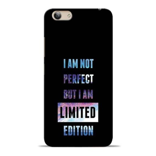 I Am Not Perfect Vivo Y53i Mobile Cover