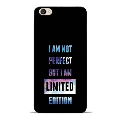 I Am Not Perfect Vivo Y55s Mobile Cover