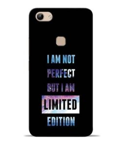 I Am Not Perfect Vivo Y81 Mobile Cover