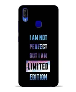 I Am Not Perfect Vivo Y95 Mobile Cover