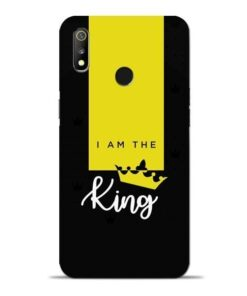 I am King Oppo Realme 3 Mobile Cover