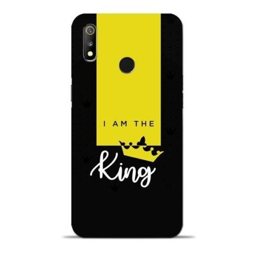 I am King Oppo Realme 3 Mobile Cover