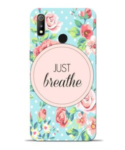 Just Breathe Oppo Realme 3 Mobile Cover