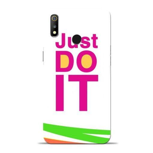 Just Do It Oppo Realme 3 Mobile Cover