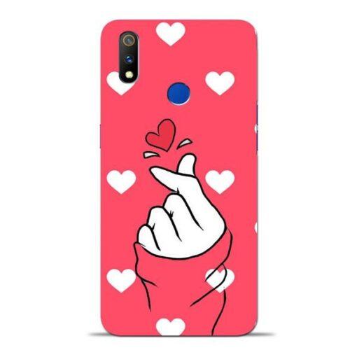 Little Heart Oppo Realme 3 Pro Mobile Cover
