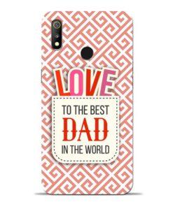Love Dad Oppo Realme 3 Mobile Cover