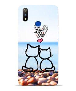 Love You Oppo Realme 3 Pro Mobile Cover