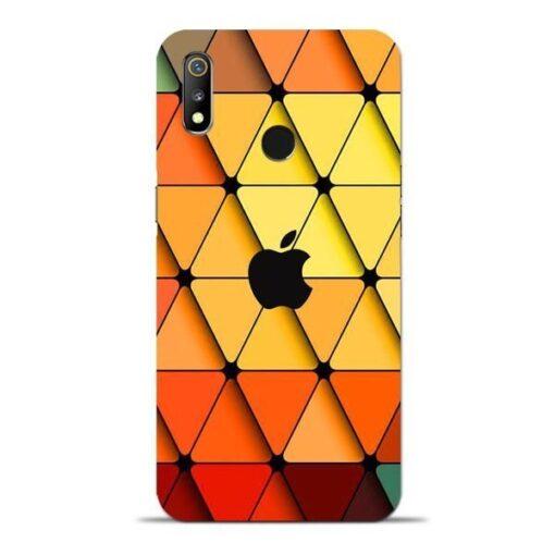 Neon Apple Oppo Realme 3 Mobile Cover