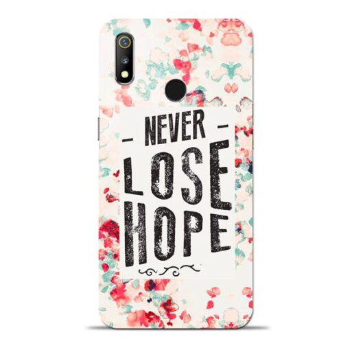 Never Lose Oppo Realme 3 Mobile Cover
