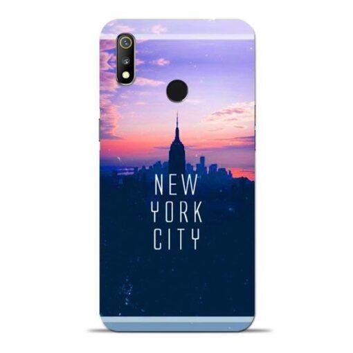 New York City Oppo Realme 3 Mobile Cover