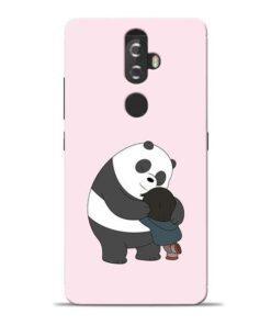 Panda Close Hug Lenovo K8 Plus Mobile Cover
