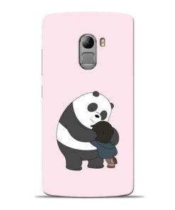 Panda Close Hug Lenovo Vibe K4 Note Mobile Cover
