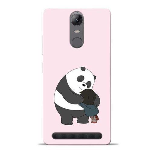 Panda Close Hug Lenovo Vibe K5 Note Mobile Cover