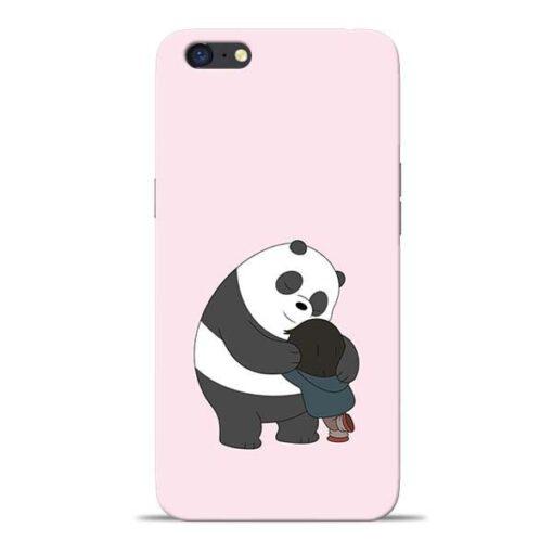 Panda Close Hug Oppo A71 Mobile Cover