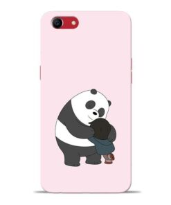 Panda Close Hug Oppo A83 Mobile Cover