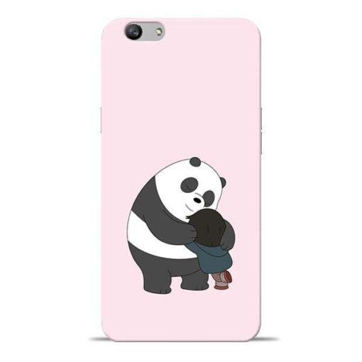 Panda Close Hug Oppo F1s Mobile Cover